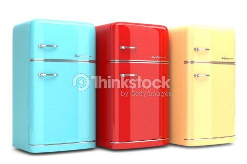 Retro Kühlschrank Günstig : Bunte retro kühlschrank stock foto thinkstock