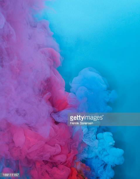 Colored smoke