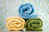 Colored Towels