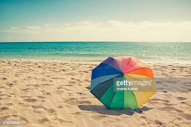Colored Umbrella on the beach