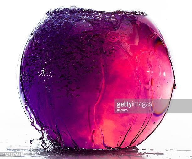 Farbige Wasser in fishtank