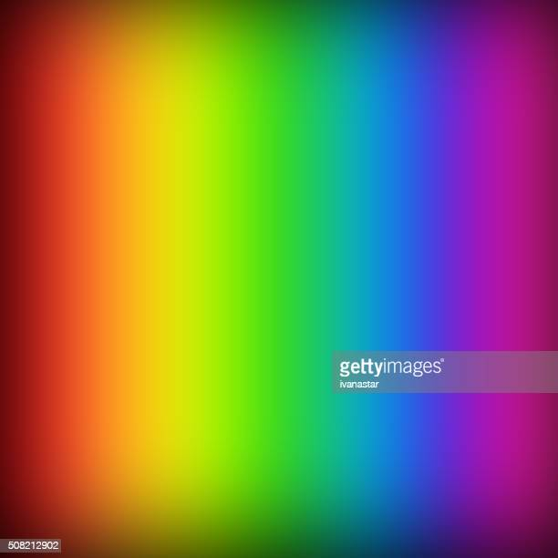 Colorful Abstract Background with Rainbow Colors