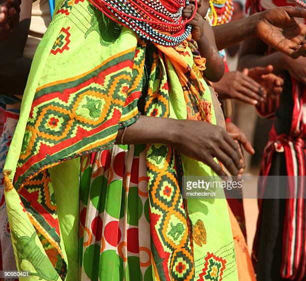 Colorful African Dress
