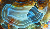 colorful agate texture