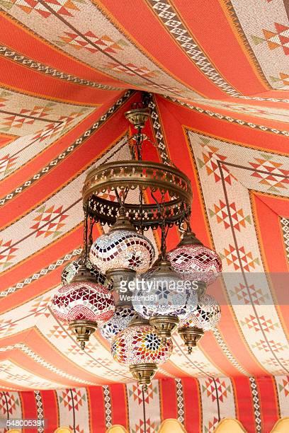 Colorful arabian lamp