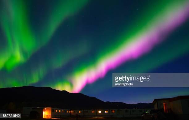 Colorful Aurora Borealis