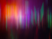 Colorful Rainbow Aurora Light Motion Effect Music Technology Sci-fi Concept Abstract Background