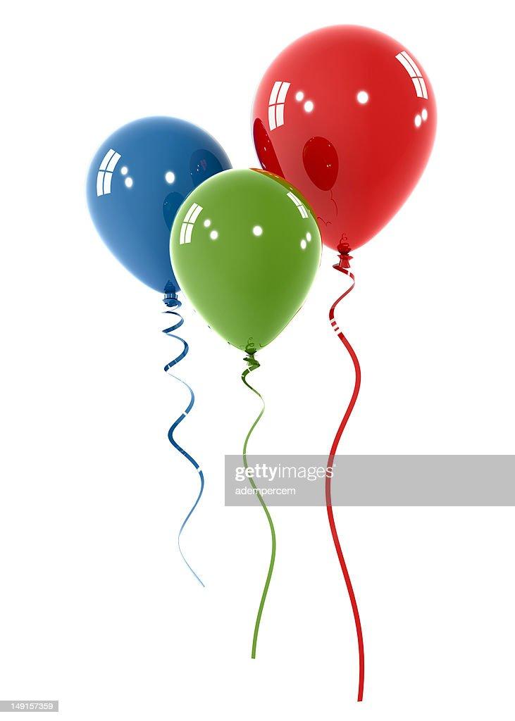 Colorful Balloon : Stock Photo