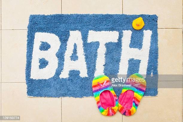 Colorful bathmat