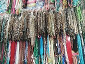 Colorful Beads For Sale In Bazaar