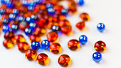 Colorful beads of joy