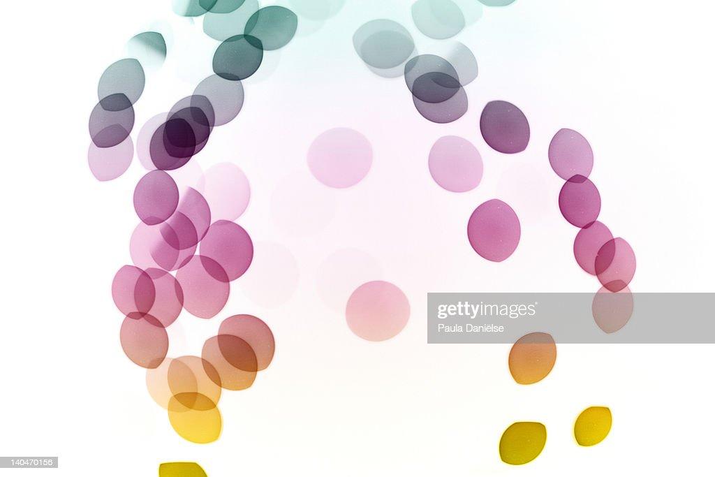 Colorful bokeh : Stock Photo