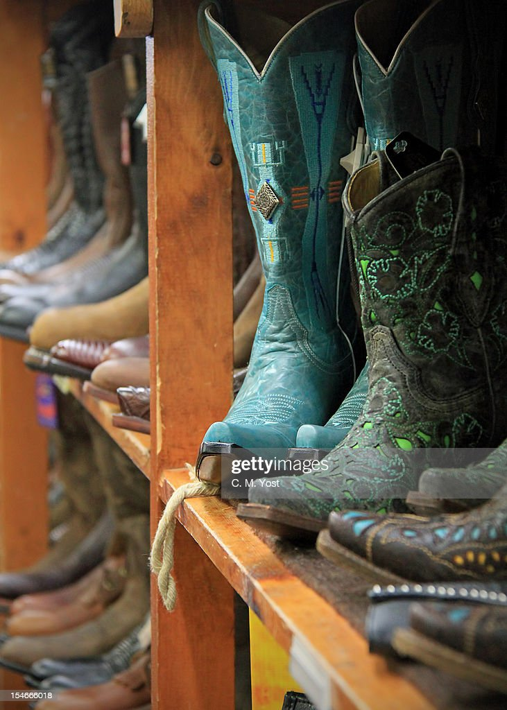 colorful boots : Stock Photo