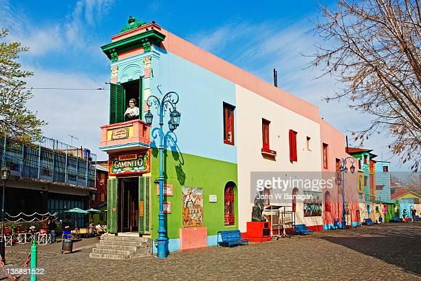 Colorful buildings, La Boca,Buenos Aires,