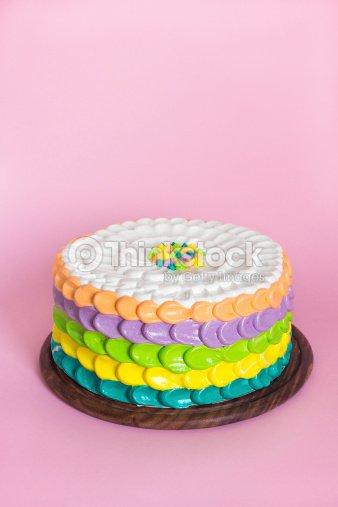 Bunte Kuchen Fur Kinder Party Stock Foto Thinkstock