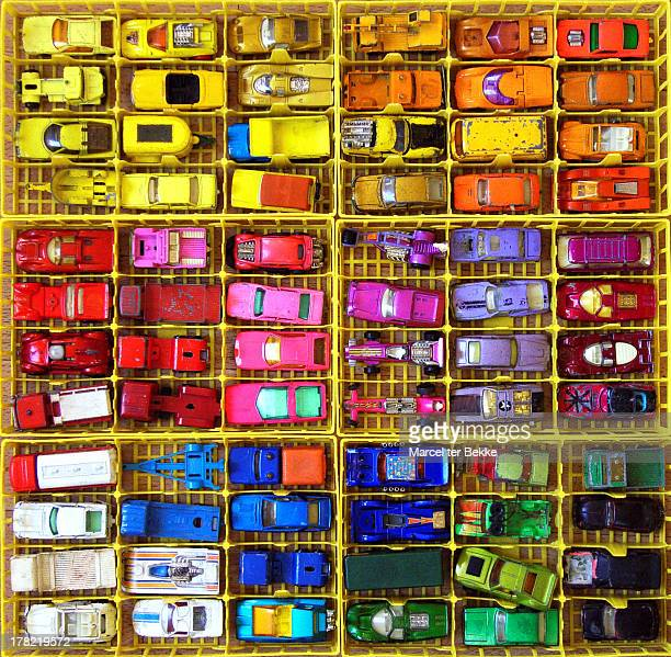 Colorful car collection
