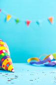 Colorful celebration mockup,birthday card template