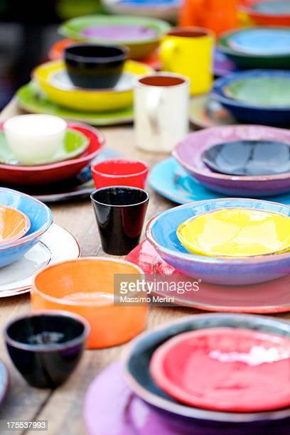 Coloré de céramique