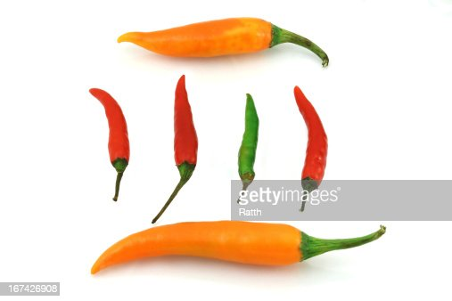 Pimenta colorida : Foto de stock