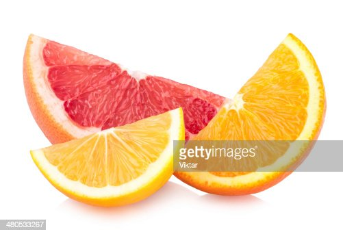 colorful citrus slices : Bildbanksbilder
