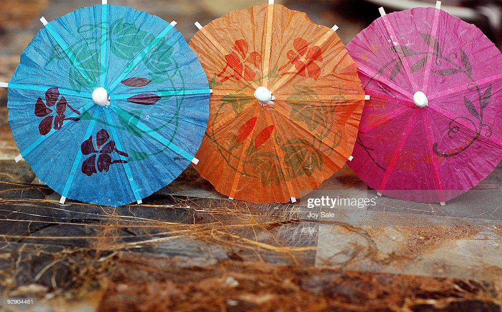 Colorful Cocktail Umbrellas