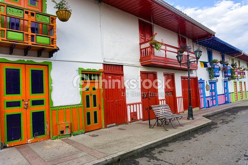Colorful Colonial Architecture