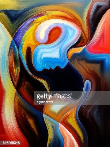 Colorful Communication : Stock Photo