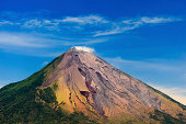 """""""OMETEPE, NICARAGUA, closeup  of the cinder cone or mountain of Conception Volcano"""""""