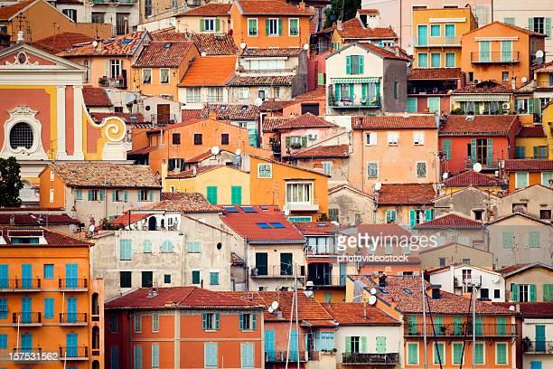 Coloré sur la Côte d'Azur