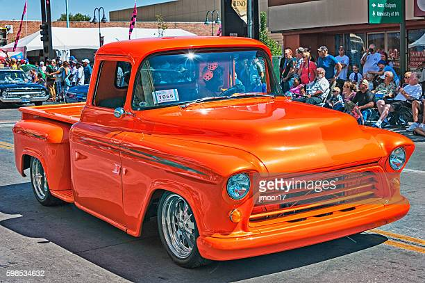 Colorful customized Pickup Truck in Reno Parade
