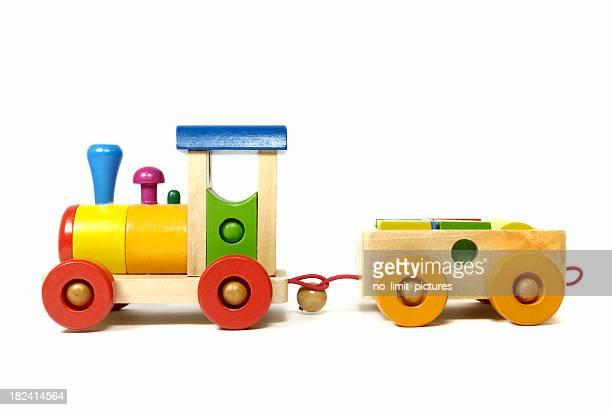 Holz Spielzeug-Eisenbahn