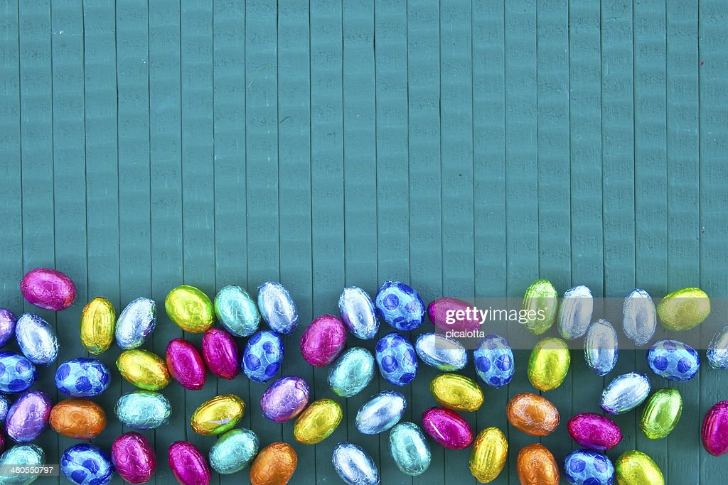 Colorful easter eggs : Stock Photo