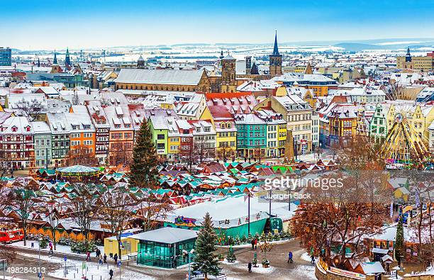 Colorful Erfurt at Christmas Time