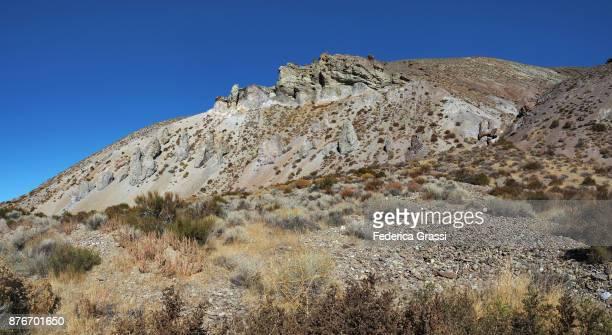 Colorful Eroded Hills at Black Rock Desert, Nevada