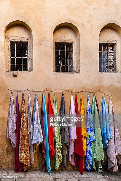 Colorful fabric - Fes, Morocco