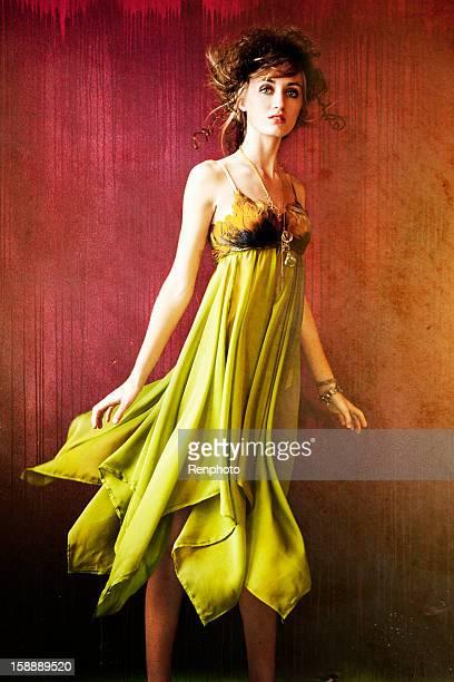 Colorido Retrato de moda