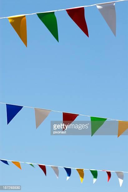 Colorido Banderas
