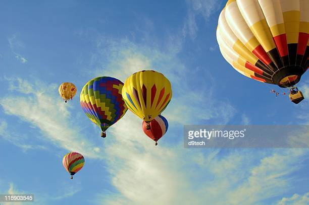 Colorful Flight of 6