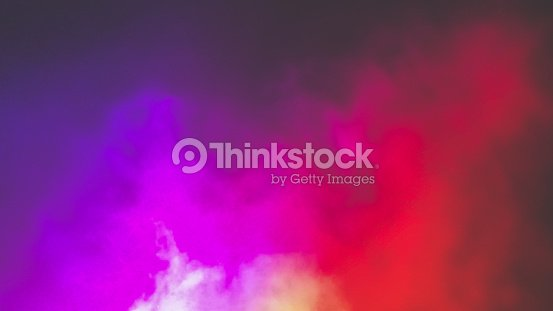 Colorful fog : Foto stock