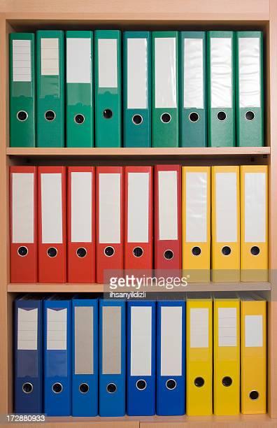 Colorful Folders