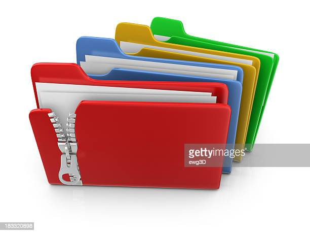 Dossiers coloré