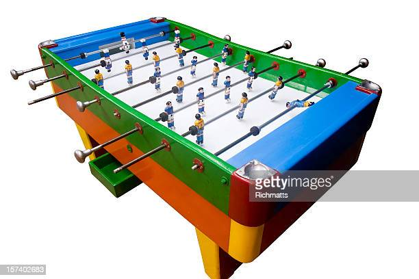 Colorful Foosball Table