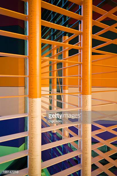Colorful Gate Frame