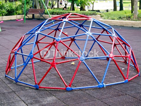 Colorful Geodesic Dome Stock Photo | Thinkstock