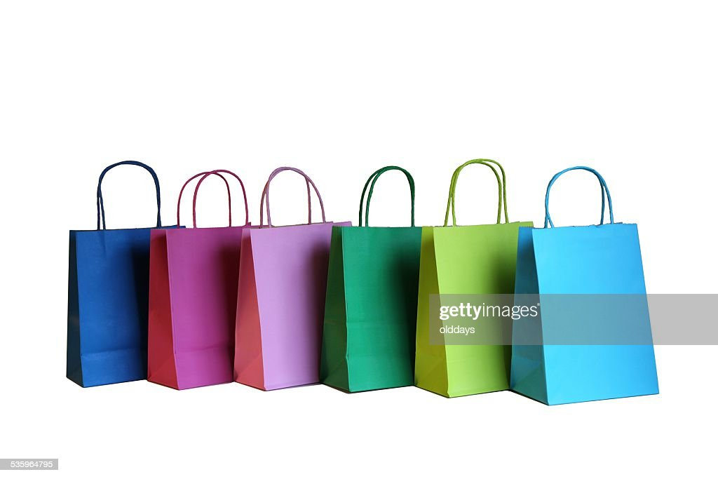 Colorful Gift Bags : Stock Photo