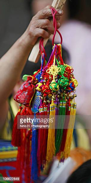 Colorful gifts and souvenirs from China