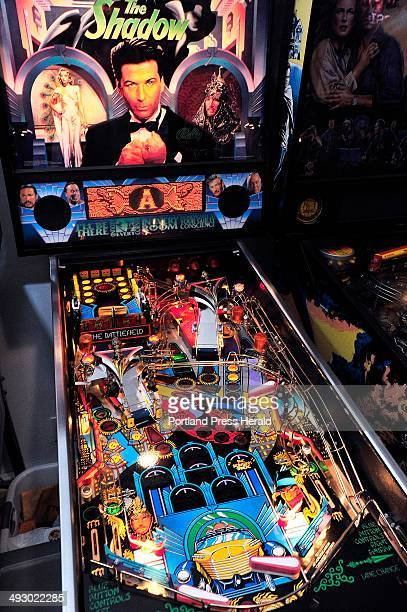Colorful graphics attract players to the pinball machines Saturday February 8 2014