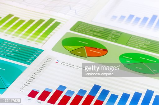 Colorful Graphs and charts