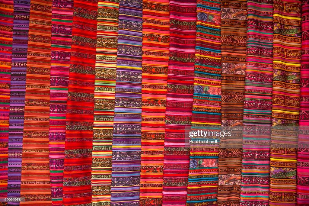 Colorful Guatemalan Fabrics
