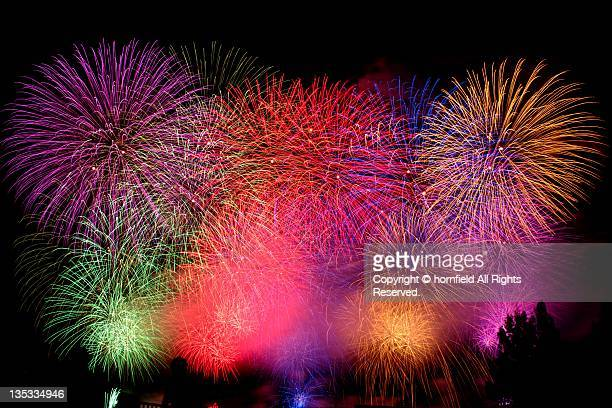 Colorful hanabi(Fireworks)